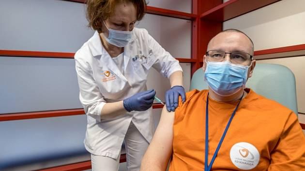 Očkování v Dánsku.