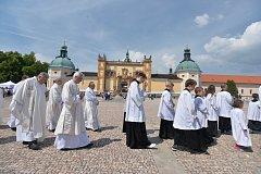 z oslav výročí korunovace Panny Marie Svatohorské