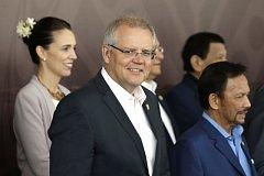 Australský premiér Scott Morrison.