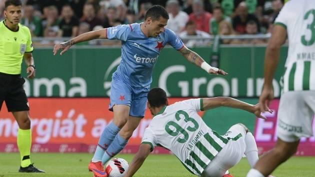 Slavia v předkole LM prohrála na hřišti Ferencvárose.