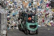 Plastový odpad - ilustrační foto.