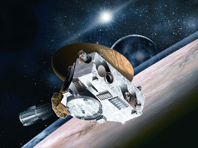 Sonda New Horizons na cestě k Plutu.