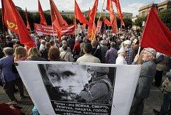 Protesty v Rusku kvůli důchodové reformě.