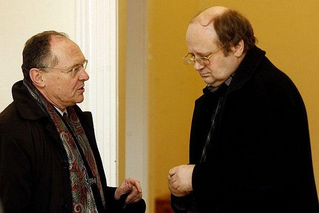 Dva z vrcholných manažerů IPB Jan Klacek (vlevo) a Libor Procházka