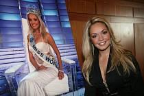 Miss World Taťána Kuchařová