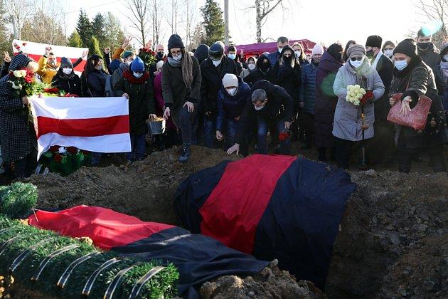 Napjatá situace v Bělorusku
