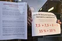 Stávka na ZŠ Kollárova v Jihlavě