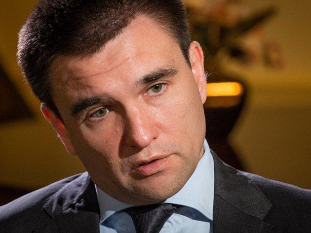Ukrajinský ministr zahraničí Pavlo Klimkin.