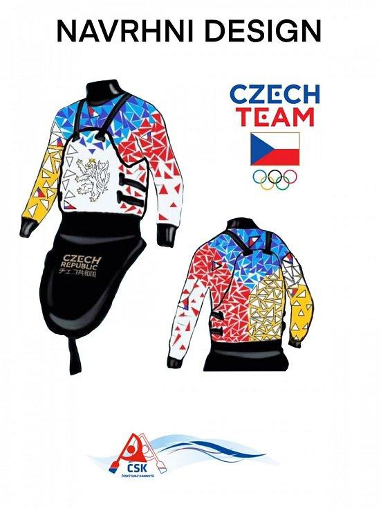 """Takto bude vypadat """"bundošprajda"""" českých vodáků na olympiádě"""