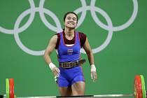 Mezi vzpěračkami do 48 kg triumfovala v Riu Thajka Tanasanová