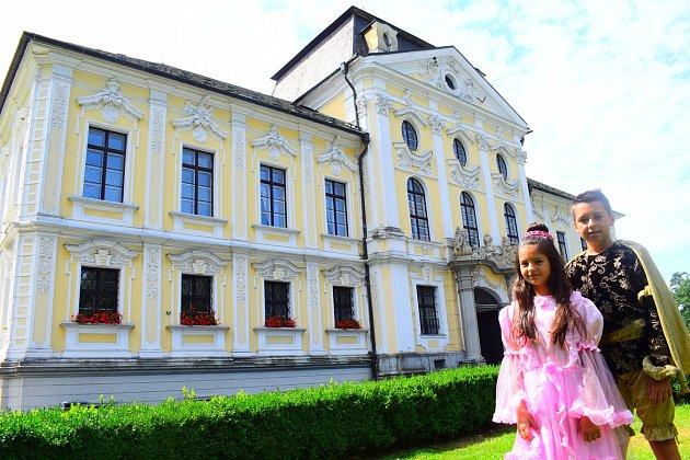 Dětské prohlídky na zámku Kravaře
