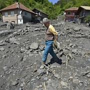 Záplavy v Bosně.