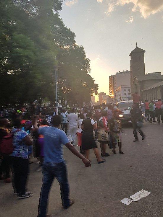 Oslavy v ulicích