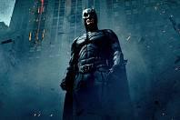 Christian Bale jako Batman ve filmu Temný rytíř
