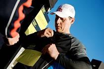 Skikrosař Tomáš Kraus před běžeckým závodem Nike Team Run FTVS.