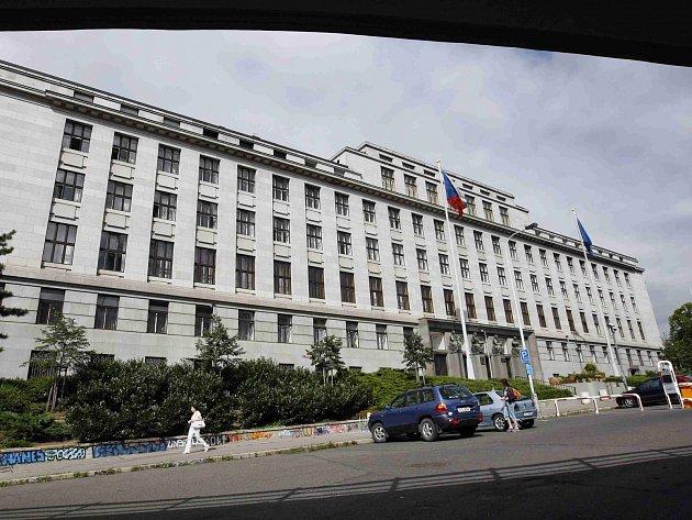 Budova ministerstva zemědělství v Praze. Ilustrační foto.
