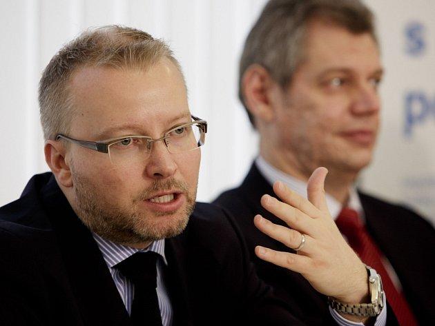 Na tiskové konferenci 13. června v Praze představil ministr životního prostředí Tomáš Chalupa program Nová zelená úsporám.