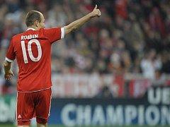 Arjen Robben vystřelil Bayernu důležité vítězství.