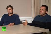 Ruslan Boširov a Alexander Petrov (vpravo)