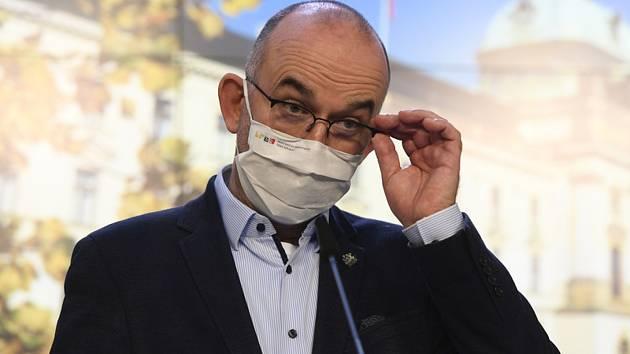 Ministr zdravotnictví Jan Blatný.