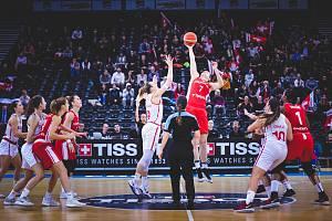České basketbalistky mají stále šanci vybojovat si účast na olympiádě v Tokiu