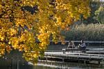 Teplé podzimní počasí - ilustrační foto.