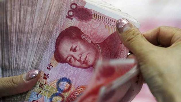 Čínský jüan- ilustrační foto
