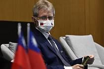 Předseda Senátu Miloš Vystrčil navštívil 4. září 2020 v Tchaj-peji inovační centrum Taiwan Tech Arena