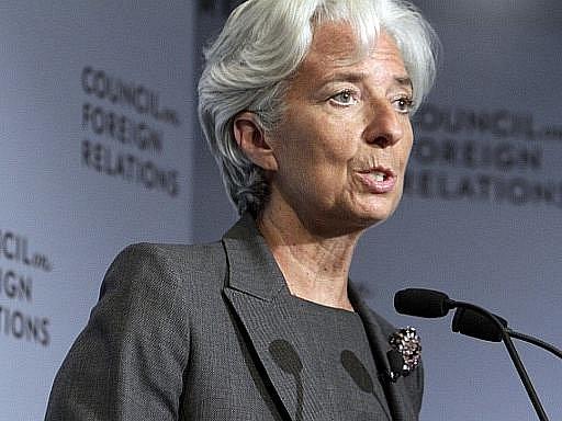 Ředitelka Mezinárodního měnového fondu Christine Lagardeová