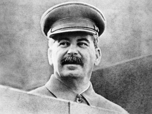Sovětský diktátor Josif Vissarionovič Stalin.