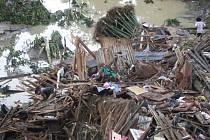 Katastrofální záplavy na Filipínách.
