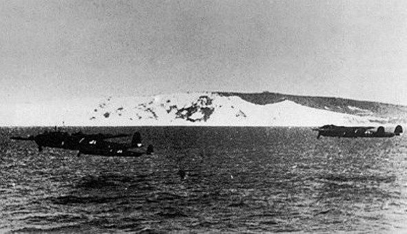 Německé bombardéry na cestě k cíli, 18. srpna 1940