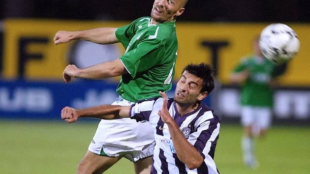 Luděk Zelenka (vlevo) proti Austrii tentokrát neskóroval.