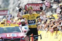 Chris Froome a jeho triumf v Pyrenejích