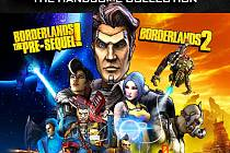 Konzolová hra Borderlands: The Handsome Collection.