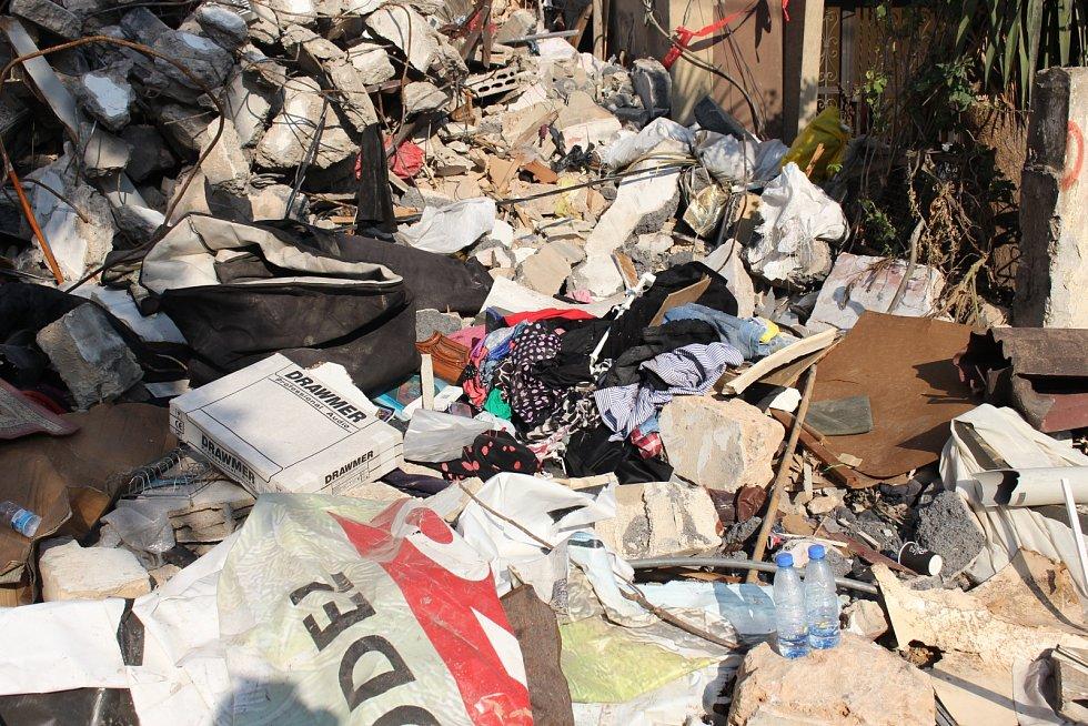 Jednu zposledních vážných humanitárních krizi způsobil výbuch vlibanonském hlavním městě Bejrútu