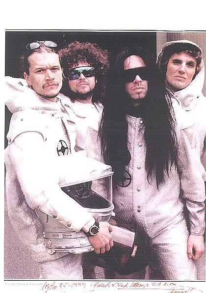 Skupina J.A.R. na archivním snímku