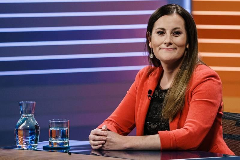 Jedna ze dvou předsedkyň strany Die Linke Janine Wisslerová