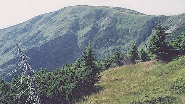 Kotel patří k nejpůsobivějším horám v Krkonoších.