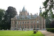 Belgický zámek Château de Moulbaix