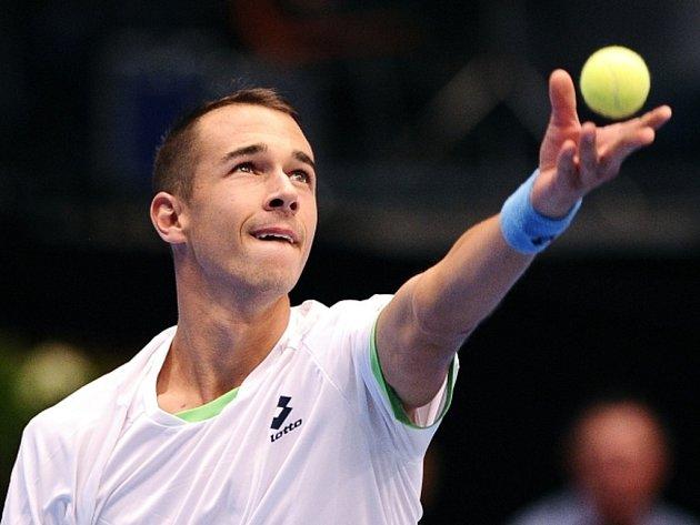 Český tenista Lukáš Rosol ve Vídni.