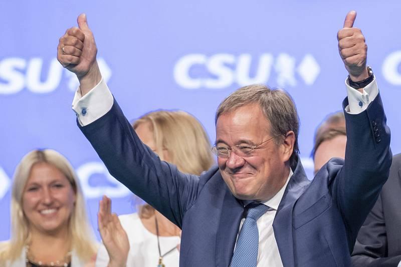 Kandidát na kancléře Armin Laschet (CDU/CSU)