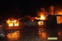 Požár v Sokolnici