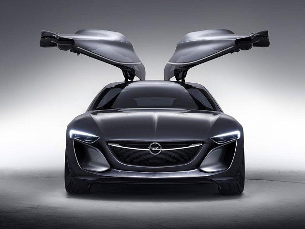 Koncept Opel Monza.