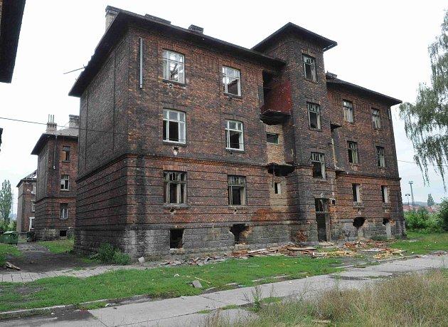 Ghetto Přednádraží v Ostravě-Přívoze. Ilustrační foto