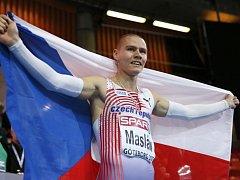Pavel Maslák si v Göteborgu doběhl pro hladké vítězství na čtyřstovce.