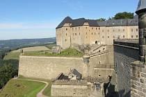 Pevnost Königstein je baštou extrémní pravice. Po NPD tu nyní uspěla i AfD
