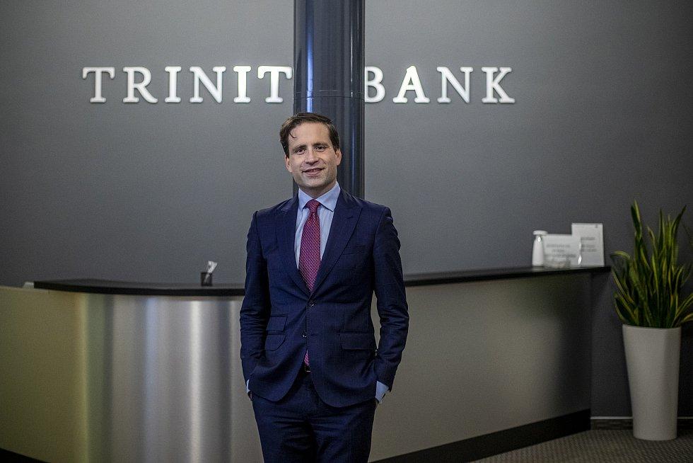 Lukáš Kovanda působí jako hlavní ekonom Trinity Bank.