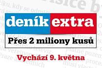 Deník Extra vychází již 9. května!