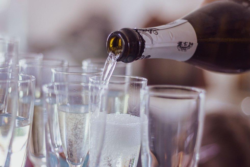 Šumivé víno, prosecco - Ilustrační foto